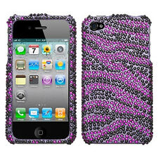Full Bling Diamond Faceplate Hard Cover Case for Apple iPhone 4  4S 4GS 4G Phone