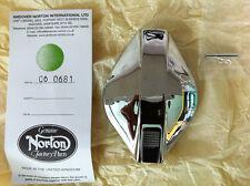 BSA & Norton Commando Flip Up Fuel / Petrol / Chrome Filler Cap