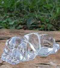 PRINCESS HOUSE WONDERS PETS LAYING DOWN PUPPY  DOG CRYSTAL STATUTE