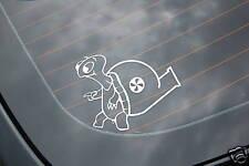 TURBO THE TURTLE Sticker Decal Vinyl JDM Euro Drift Lowered illest Fatlace