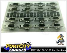 "Crow Cam Roller Rockers Ford V8 302 351 Cleveland 7/16"" stud 1.72RR RR351-177CC"