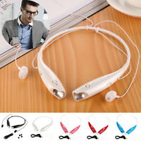 Headphone Headset Stereo Bluetooth Wireless Earphone Sport Handfree Universal CH