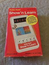 Vintage Radio Shack Show 'N Learn Quiz Game Cat. No. 60-1021 Working