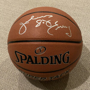 """EXACT PROOF! JULIUS """"DR J"""" ERVING Signed Autographed Basketball Sixers Nets"""