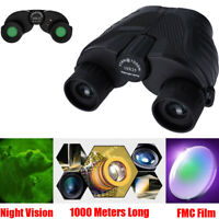 10X25 Telescope Zoom Binoculars Hd 1000M For Outdoor Hunting Lll Night Vision