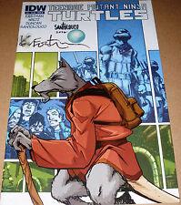 TMNT #5 B cvr SIGNED Kevin Eastman Mateus Santolouco Teenage Mutant Ninja Turtle