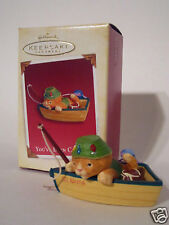 Hallmark Ornament 2005 You've Been Caught Cat Fishing NEW