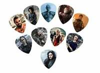 Game of Thrones Guitar Picks (10 Medium Picks in a packet)