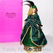 Barbie~1995 Enesco~Le Porcelain Doll~Musical Figurine~Gwtw Scarlett O'Hara~Mib
