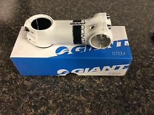 """GIANT Contact OD2 Stem 100mm OverDrive 2 white/black Compatible 1-1/4"""" or 1-1/8"""""""