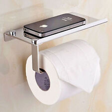 7inch Wall Mounted Bathroom Stainless Steel Toilet Paper Holder Roll Tissue Box