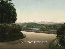 PAU vue sur les Pyrénées photochrome vers 1890-1900 Pyrénées-Atlantiques 64