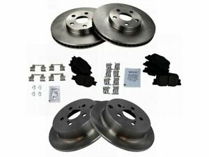 For 2005-2010 Scion tC Brake Pad and Rotor Kit Front and Rear 57497PG 2006 2007