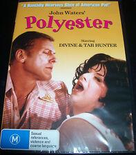 Polyester (Divine John Waters Tab Hunter) (Australian PAL Region 4) DVD - NEW