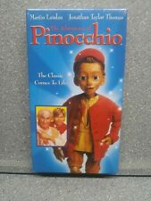 New Old Stock Sealed VHS The Adventures of Pinocchio - JTT from Home Improvement