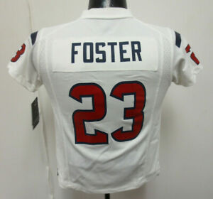 ARIAN FOSTER YOUTH KIDS NIKE SMALL JERSEY HOUSTON TEXANS NFL FOOTBALL PRINTED