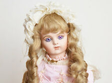 French Bru Jne 14 Titianna Antique Reproduction Patricia Loveless Doll 27""