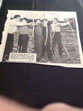 65-8 Ephemera 1965 Picture Ramsgate Conyngham School Archery J Cavey