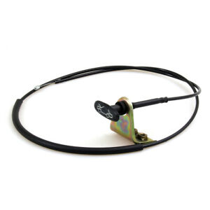 1PC HOOD RELEASE CABLE NEW FIT DATSUN 520 521 U521 1300 1500 TRUCK PICKUP 60-70'