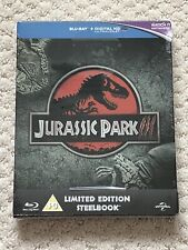 New Jurassic Park III Steelbook Zavvi Exclusive Region Free