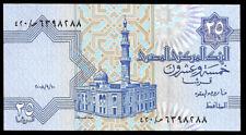 World Paper Money - Egypt 25 Piastres 2008 P57 @ UNC