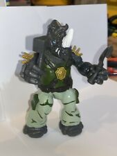 TMNT Rocksteady 2012 2014 COMPLETE WITH WEAPONS Nickelodeon