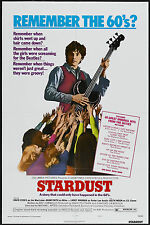 STARDUST original style C poster DAVID ESSEX/ADAM FAITH one sheet 1974