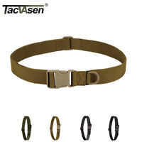 TACVASEN Heavy Duty Army Belts Tactical Military Belt Nylon Men Belt Waistband