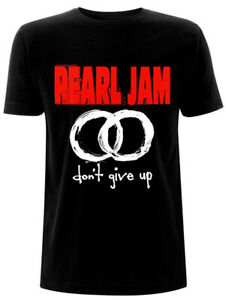 Pearl Jam 'Don't Give Up' (Black) T-Shirt - NEW & OFFICIAL!