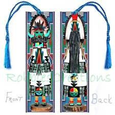 KACHINA DOLL Large BOOKMARK TASSEL Apache Dancer ART-NON Native American Indian