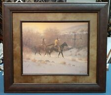 """G. HARVEY FRAMED """"ALONG THE CANYON WALL"""" LIMITED EDITION #1828 OF 2250"""