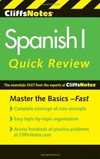 CliffsNotes Spanish I Quick Review, 2nd Edition (C