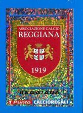 CALCIATORI PANINI 1998-99 Figurina-Sticker n. 565 - REGGIANA SCUDETTO +punto-New