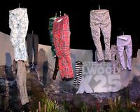 G-Star RAW Men Elwood X25 Pharrell Williams Men Patterned 3D Tapered Jeans Pants