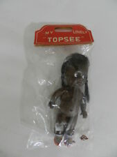VINTAGE BLACK AMERICANA TOY DOLL-1960'S MY LOVELY TOPSEE- VINTAGE TOY DOLL- NOS