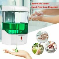 700ml Bath Auto Sensor Soap Dispenser Touchless Liquid Mounted Wall Soap