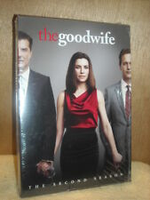The Good Wife: The Second Season (DVD, 2011, 6-Disc Set) Julianna Margulies