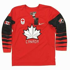 New Authentic Nike Men's Team Canada Hockey 2016 Olympic Replica Jersey