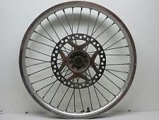 1990 Kawasaki KX250 Front Wheel, Rim , Hub, Rotor 21 x 1.60  90 KX 250 B3956