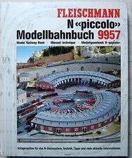 Fleischmann piccolo 9957 Modellbahn-Ringbuch für Spur N Gleispläne Ratgeber 2000