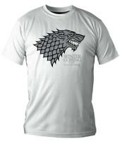 Official Licensed Merch Men's T-SHIRT Top Stark GAME OF THRONES Winter is Coming
