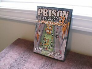 Prison Tycoon 3 - Lockdown   PC/CD ROM ~New Factory-Sealed~