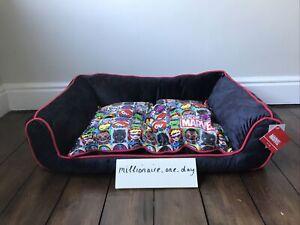 Marvel Comics Reversible Dog Pet Bed Soft Animal Chair Gift Novelty Primark