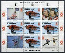 PARAGUAY 1985 Olympiade Olympics Olymphilex 3858 Kleinbogen ** MNH