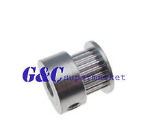 2GT 20 Tooth 20T 5mm Bore Aluminum Timing Pulley