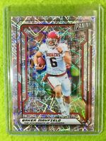 BAKER MAYFIELD JERSEY #6 OKLAHOMA PRIZM CARD BROWNS SP/99 REFRACTOR 2019 VIP SSP