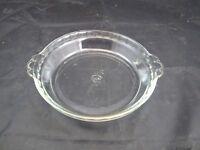 "Vintage Pyrex 228 9"" Scalloped Pie Baking Dish Ovenware Kitchenware Glassware"