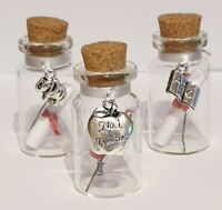 Personalised Teacher Keepsake, Gift, Message in a Bottle, Tutor, Thank You Gift
