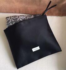 8f7b8dbebb6 GUCCI Beauty Black Silky Makeup Cosmetic Bag Scarf Bag Handbag Organizer  VIPGift