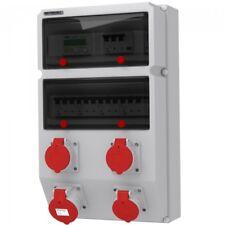 Stromverteiler GM-S/FI 32A 3x16A IP44 mit Stromzähler 3X5(80)A Doktorvolt® 9085